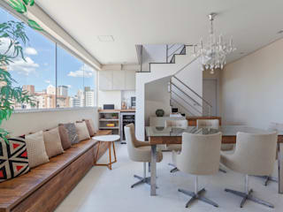 Amis Arquitetura e Decoração Modern dining room
