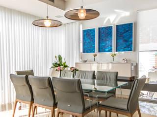 Design Group Latinamerica Sala da pranzoIlluminazione Metallo Ambra/Oro