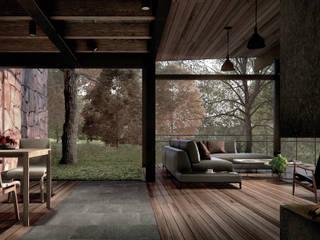Livings de estilo  por JCh Arquitectura,
