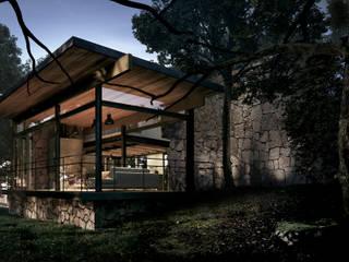 Terrazas  de estilo  por JCh Arquitectura,
