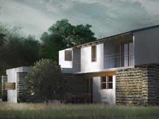 Casas de estilo  por JCh Arquitectura,