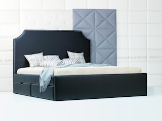 Кровать с выдвижными ящиками:  в . Автор – Sofas&Decor