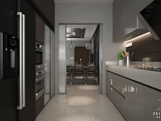 Kitchen by Zeitlus Design, Modern