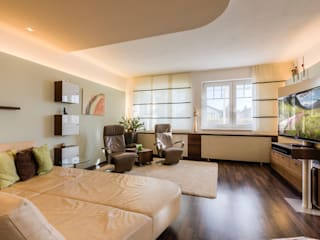Living room by Horst Steiner Innenarchitektur