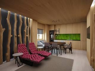 Salle à manger de style  par ARCHDUET&DA