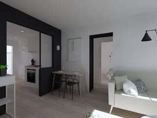 Duplex 62m² - Rue des Alpes: Cuisine de style  par SAS Alexandre TRIPIER