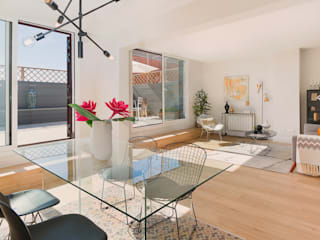 TOP NOTCH Modern dining room by Markham Stagers Modern