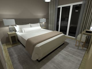 Anne Lapointe Chila Modern style bedroom