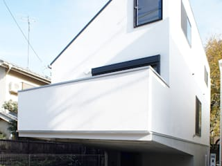 一級建築士事務所A-SA工房 Single family home White