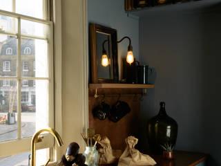 deVOL Kitchens Modern kitchen Wood Blue