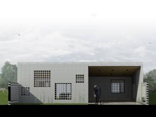 Casa DN: Casas de estilo  por Estudio Enlace