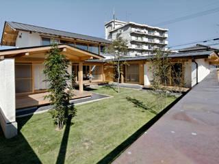 芝庭: 工作舎が手掛けた庭です。