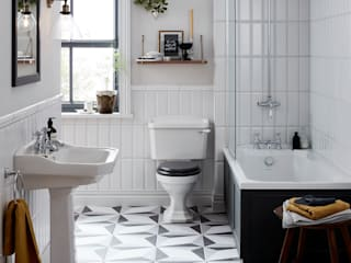Granley collection Baños de estilo clásico de Heritage Bathrooms Clásico