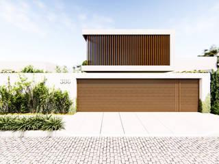 Casas de estilo  por Studio Calla Arquitetura, Moderno