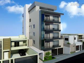 Edifício Residencial por Tayrine Barcelos Arquitetura e Decoração Moderno