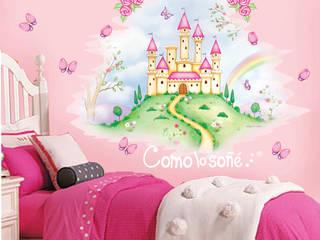 Mural Castillo:  de estilo  por Como lo soñé...