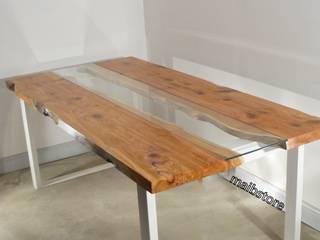 Table sejour live edge bois brut  bois massif:  de style  par mai.b.store