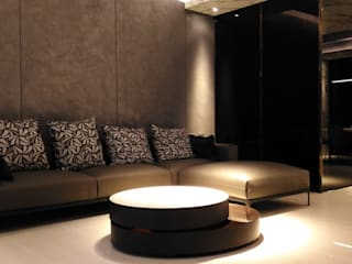 Living room by 勻境設計 Unispace Designs,
