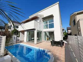 レアージュRハウス生田: PROSPERDESIGN ARCHITECT OFFICE/プロスパーデザインが手掛けた家庭用プールです。