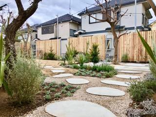 hyugge kikuna: en景観設計株式会社が手掛けた庭です。