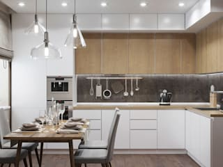 Modern kitchen by ДизайнМастер Modern