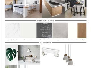 Proposta - Cozinha: Cozinhas modernas por Dar Azos - Oficina de Design