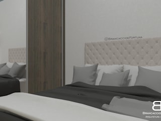 Спальня в эклектичном стиле от Brancaccio & Fortuna - Arquitetura e Engenharia Эклектичный