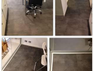 Soloparquet Srl Modern office buildings Wood-Plastic Composite Grey