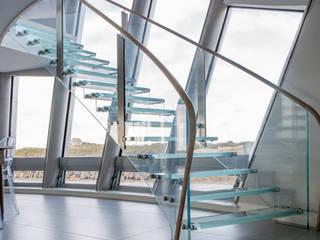 Structural Glass Staircase Bisca Staircases Escaleras Vidrio Transparente
