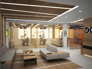Dent Group_Dental Clinic Design by Elif Baltaoglu Interiors Modern