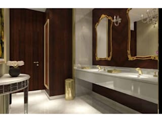 Rixos Hotel St.Petersburg_Restrooms Classic hotels by Elif Baltaoglu Interiors Classic