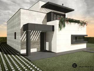 ATELIER OPEN ® - Arquitetura e Engenharia Mehrfamilienhaus Stein Grau