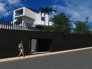 Habitação Unifamiliar AQ - Cascais por FPArquitectura Moderno
