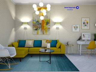 Salas de estar minimalistas por 'Design studio S-8' Minimalista