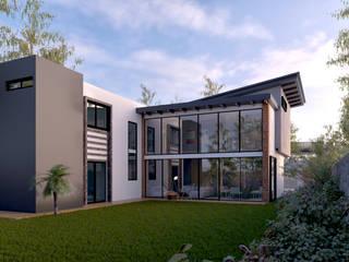 C8   ARQUITECTOS Einfamilienhaus Beton Weiß