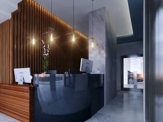 C8   ARQUITECTOS Moderne Hotels Marmor Grau