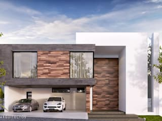 C8 | ARQUITECTOS Detached home Wood White