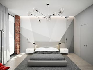 Industrial style bedroom by ARCHDUET&DA Industrial