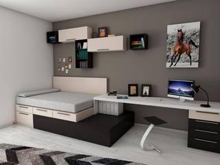 Interior Modern study/office by Workz Services LLP Modern
