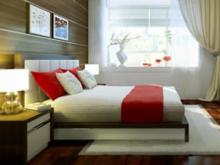 Interior Modern style bedroom by Workz Services LLP Modern