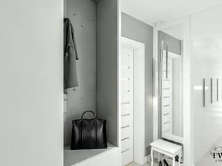 Mieszkanie w Konstantynowie Łódzkim: styl , w kategorii  zaprojektowany przez Klaudia Tworo Projektowanie Wnętrz Sp. z o.o.