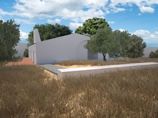 Entrada no Lote: Casas de campo  por André Pintão