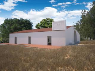 Monte da Dourada: Casas de campo  por André Pintão,Campestre
