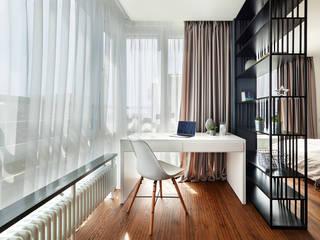 書房/辦公室 by U-Style design studio, 現代風