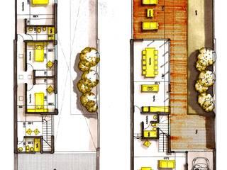 OBRA L.L.: Casas unifamiliares de estilo  por I.S. ARQUITECTURA