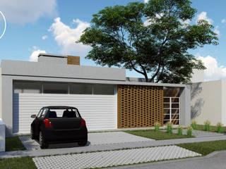 : Casas de estilo  por ARBOL Arquitectos