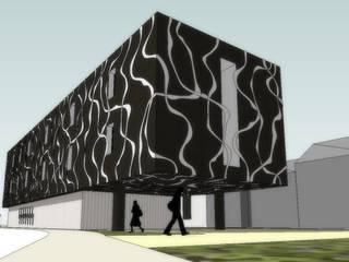 CAJIL – Futuro Centro de Apoio, Lumiar - Centro de Dia (75 utentes) + UCCI (45 camas) + SAD (180 utentes):   por Coisa - Arquitectura, Design e Imagem, Lda