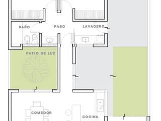 : Casas de estilo  por ARBOL Arquitectos ,Minimalista