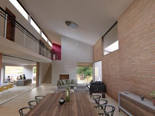 Modern houses by Flores Rojas Arquitectura Modern