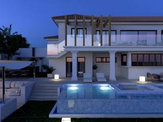 Villa en Rojales, Alicante Casas de estilo clásico de Pacheco & Asociados Clásico